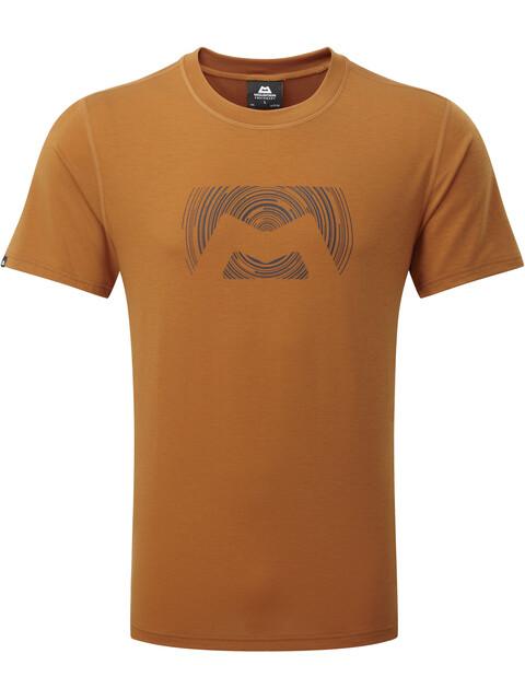 Mountain Equipment M's Groundup Logo+ Tee Pumpkin Spice